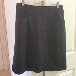Banana Republic Black Stretch Skirt Sz 10
